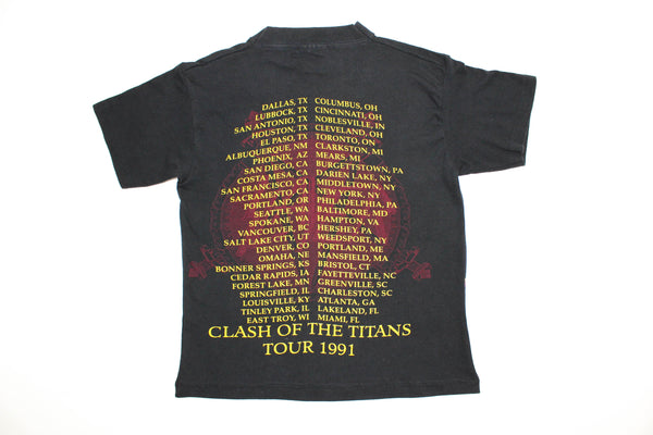Elevated Youth Reworked '91 Slayer 'Siamese Demons / Clash Of The Titans Tour' Youth Small *1 of 1*