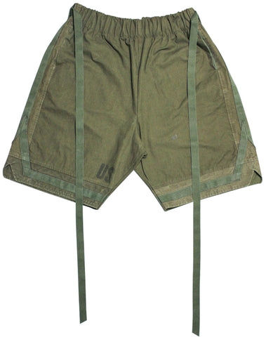 Elevated 'Military Basketball Shorts' S-XXL *Khaki*
