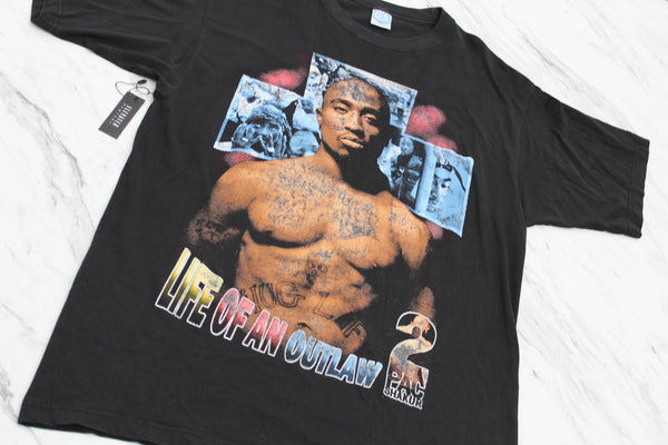 2Pac 90s 'Life Of An Outlaw / Makaveli The 7 Day Theory' XL