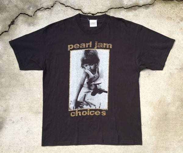 Pearl Jam '92 'Choices' XL *Deadstock*