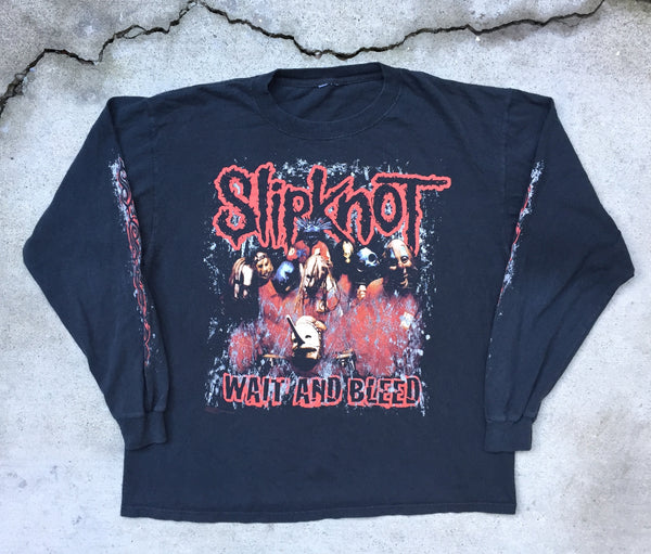Slipknot '08 'Wait And Bleed' L/XL Long Sleeve