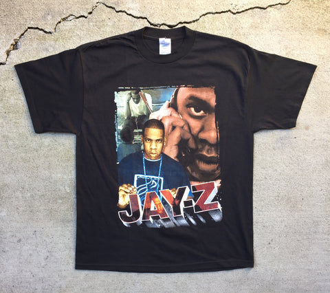 Jay-Z 2001 'Blueprint Tour Bootleg' Large *Deadstock*