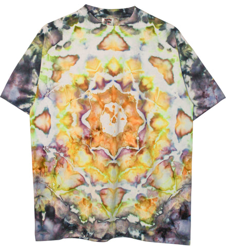 Elevated 'Lotus Mandala Tie Dye' L/XL