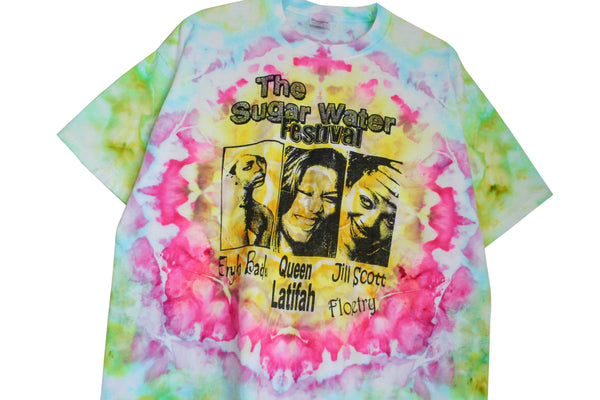 Erykah Badu '05 'Sugar Water Festival' XL *1 of 1 Hand-Dyed*