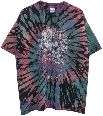 Metallica '00 'Summer Sanitarium Tour Tie Dye' XL *1 of 1*
