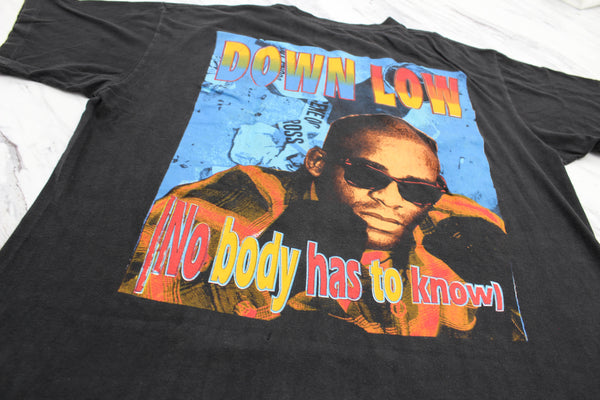 R Kelly 1995 'Down Low (Nobody Has To Know)' XXL *Rare*