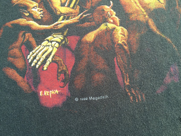 Megadeth '92 'Vic Goes To Hell' M/L
