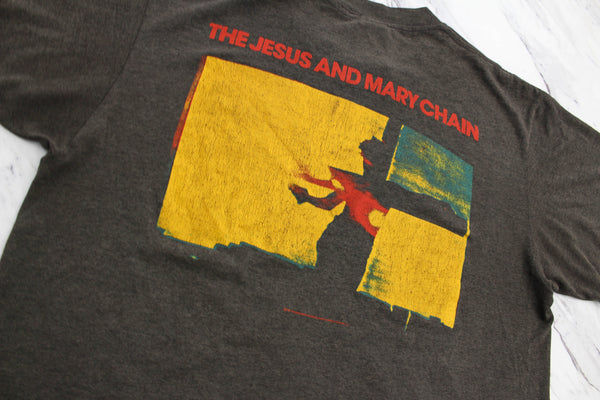 The Jesus and Mary Chain '87 'Darklands / April Skies' Large *RARE**Paper Thin/Boxy Fit*