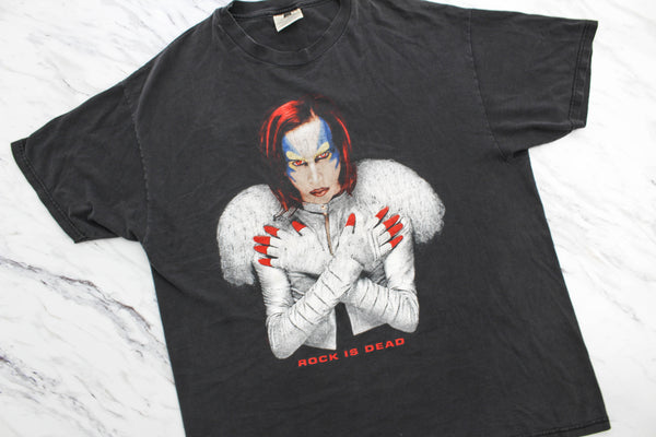 Marilyn Manson 1998 'Rock Is Dead' XL *Heavy Fade*