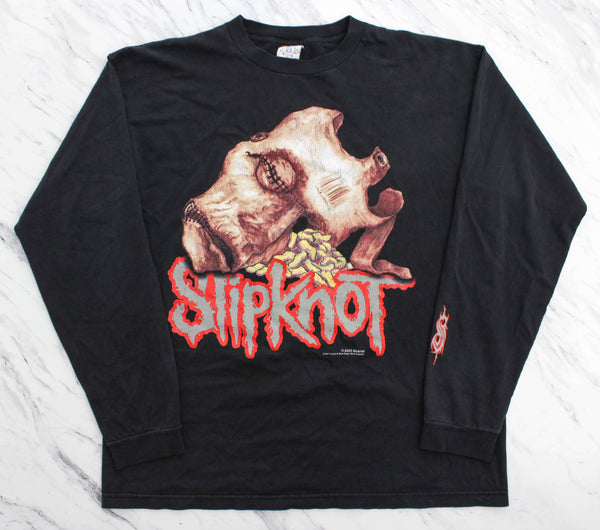 Slipknot '00 'Maggot Mask' XL Long Sleeve *Soft and faded*