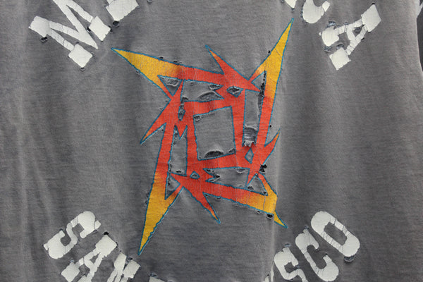 Metallica '96 '15 Years' Large L/S *Thrashed and Softened*
