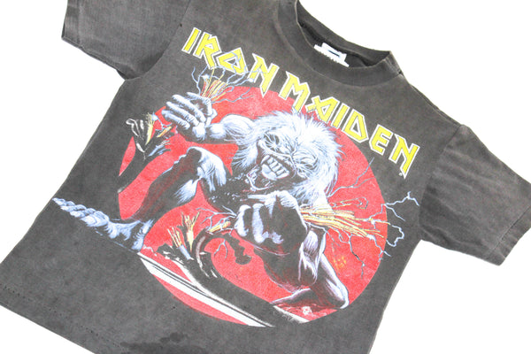 Elevated Youth Reworked '93 Iron Maiden 'A Real Live One' Youth XS/S *1 of 1*