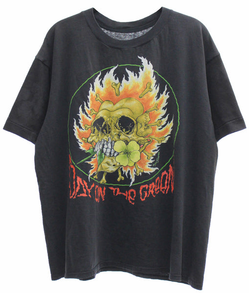 Metallica 1991 'Flaming Skull Flower / Day On The Green' Boxy Large