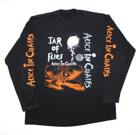 Alice In Chains '94 'Jar Of Flies / SAP' XL L/S *Rare*