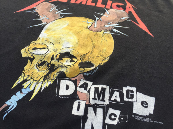 Metallica '87/'91 'Damage Inc Tour' XL/XXL