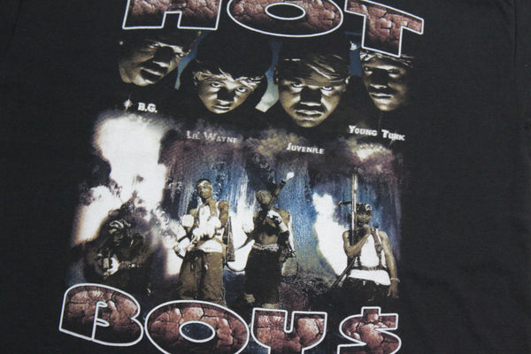 Hot Boys '99 'Guerilla Warfare Bootleg' XL *Deadstock*