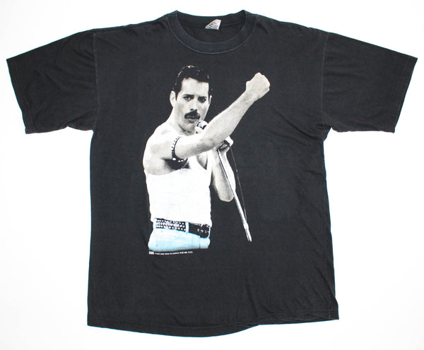 Freddie Mercury 1993 Tribute Live Aid '85 Large *Rare*