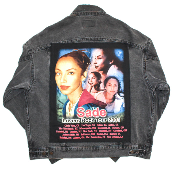 Levis 90s Jacket x Sade 2001 Lovers Rock Back Patch XL