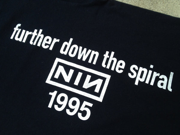 Nine Inch Nails 1995 'Further Down The Spiral' XL/XXL
