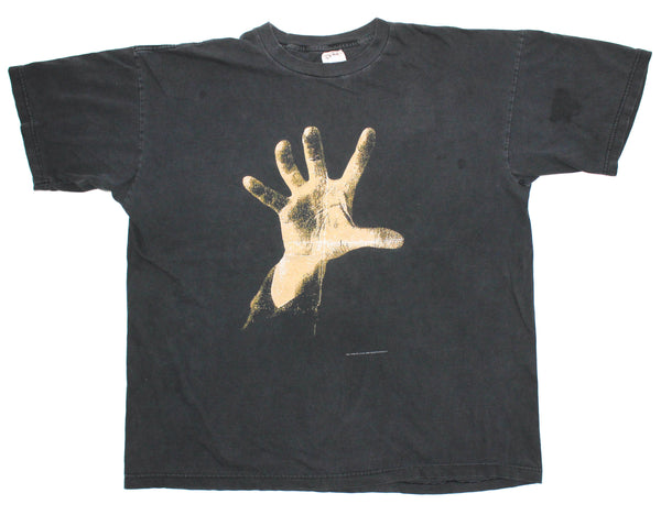 System Of A Down 1998 'Hand Logo' Boxy XL *Heavy Fade*