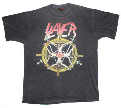 Slayer 1994 'Circle Of Beliefs' XL *Faded*