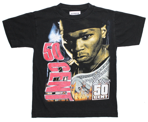 Elevated Youth Reworked '03 50 Cent 'Get Rich Or Die Tryin' Youth XS *1 of 1*