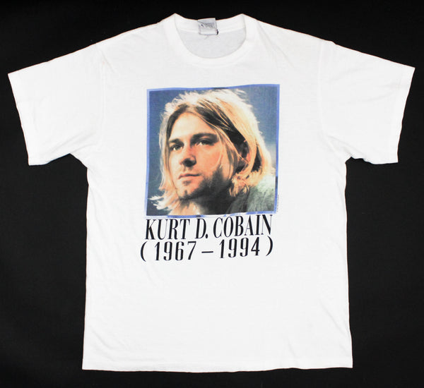 Kurt Cobain 1994 Portrait/Painting Tribute XL