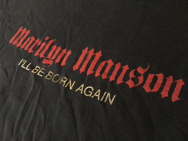 Marilyn Manson 2000 'I'll Be Born Again' XL/XXL *Faded / Distressed*