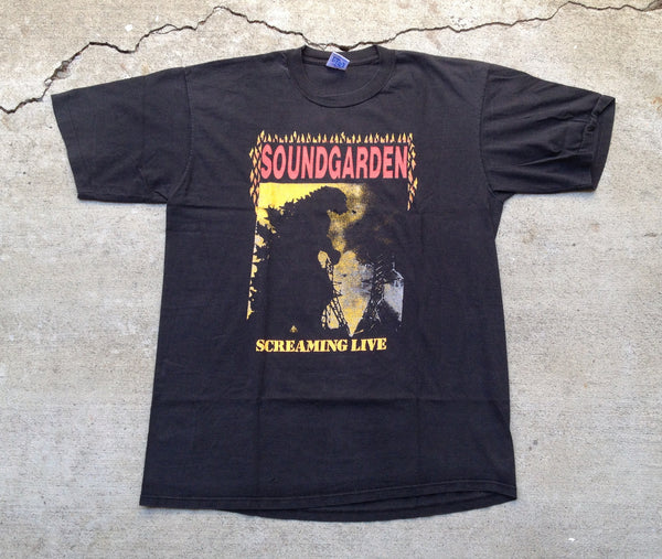 Soundgarden 1988-89 'Screaming Live / Total Fucking Godhead' Large