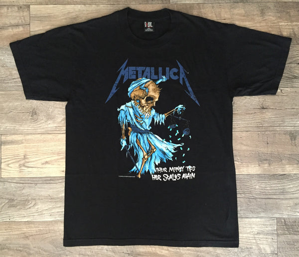 Metallica '94 'Doris / Their Money Tips Her Scales' XL/XXL