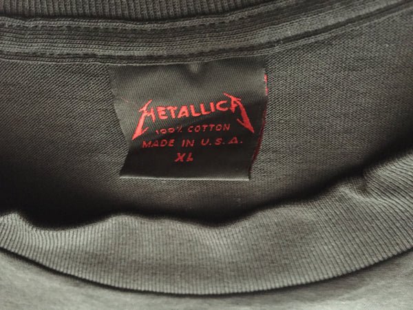 Metallica '89/'91 'Doris / Their Money Tips Her Scales' XL *Deadstock*