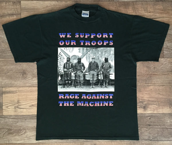 Rage Against The Machine '96 'We Support Our Troops' Large