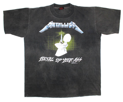 Metallica '87/'91 'Metal Up Your Ass' Large *Faded**Glow In The Dark*