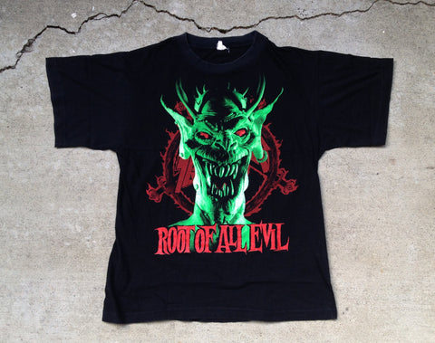 Slayer 1988  'Root Of All Evil / World Sacrifice Tour' M/L
