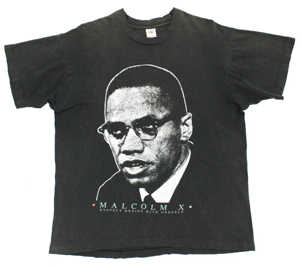Malcolm X 90s Tribute XL *Heavy Fade*