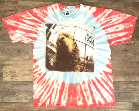 Pearl Jam '93 'VS Europe/Why Are Sheep Afraid?' XL/XXL *Tie Dye*
