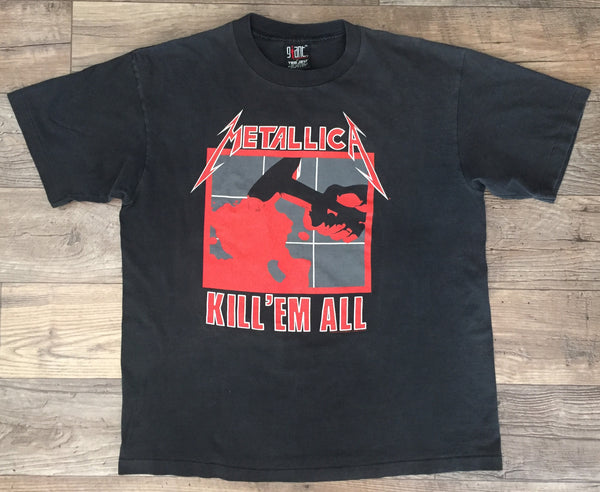 Metallica '94 'Kill Em' All / Ride The Lightning' XL *Glow In The Dark*