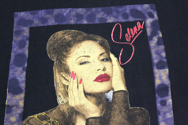Selena 90s 'We Will Always Remember You Bootleg' XL *Rare*