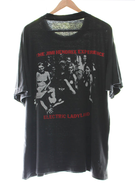 Jimi Hendrix 80s/90s 'Electric Ladyland' XL *RARE*