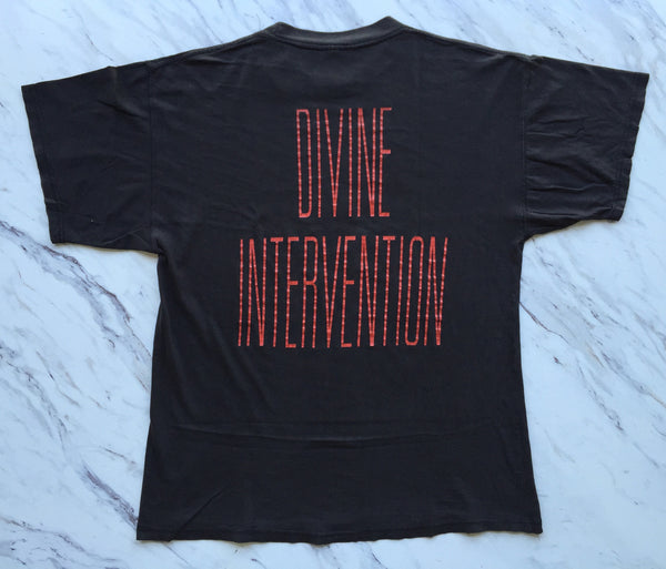 Slayer 1994 'Demon / Divine Intervention' XL *Faded & Thrashed*
