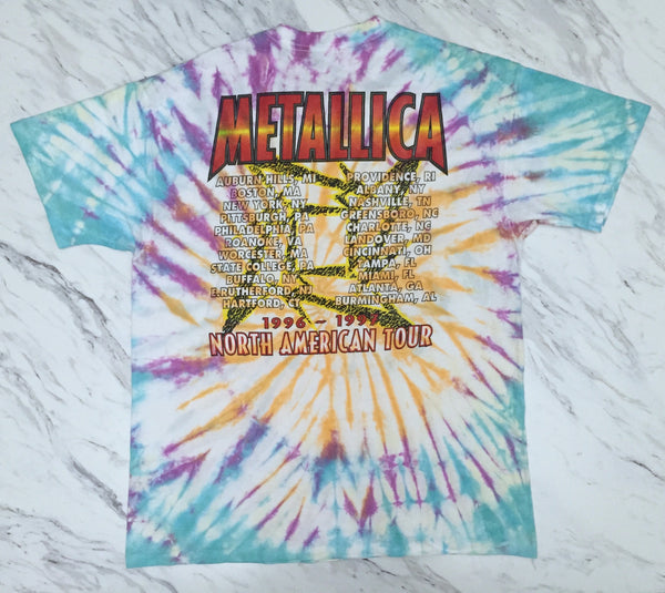 Metallica '97 'Load Tour Tie Dye' XL *Rare*
