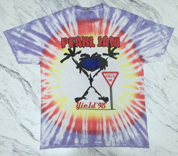 Pearl Jam '98 'Yield Tour Tie Dye' XL