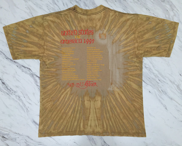 Jimmy Page & Robert Plant 'Unledded / No Quarter Tie Dye' XL/XXL *Rare*