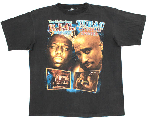 Biggie / 2Pac 90s Bootleg Tribute XL/XXL