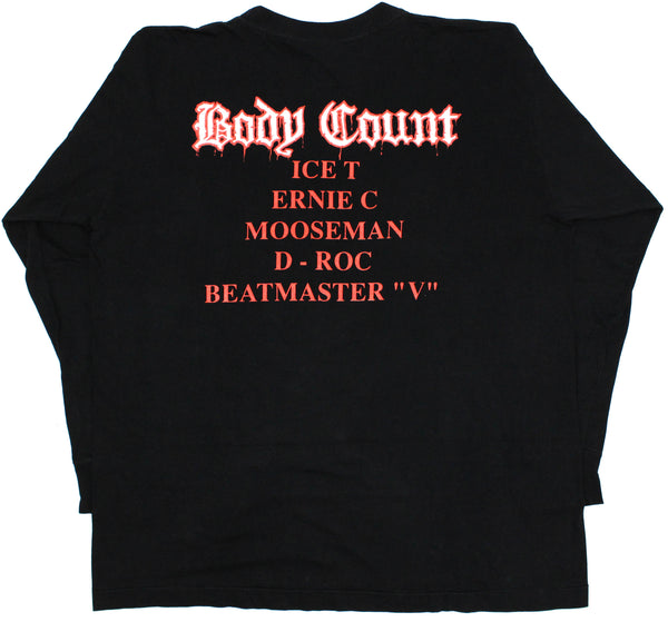 Body Count '92 'Cop Killer' XXL L/S *RARE*