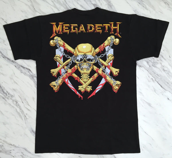 Megadeth '91 'Killing Is My Business' M/L *Rare**Glow In The Dark*