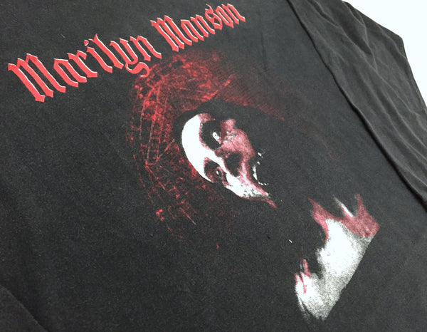 Marilyn Manson '00 'Holy Wood' XXL L/S *Heavy Fade/ Distressed*