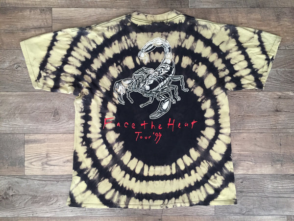 Scorpions 1994 'Face The Heat Tie Dye' XL/XXL *Rare*