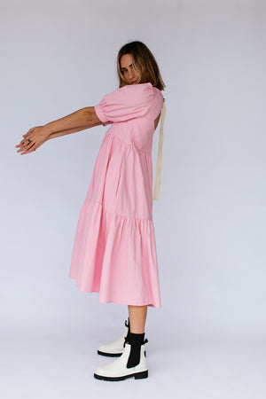 ESTHER DRESS - LOLLY PINK