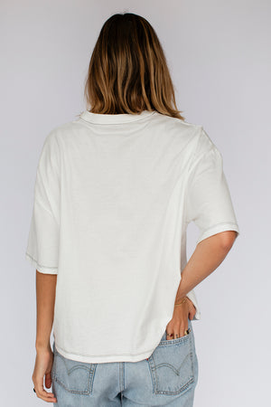 SIERRA TEE - OFF WHITE